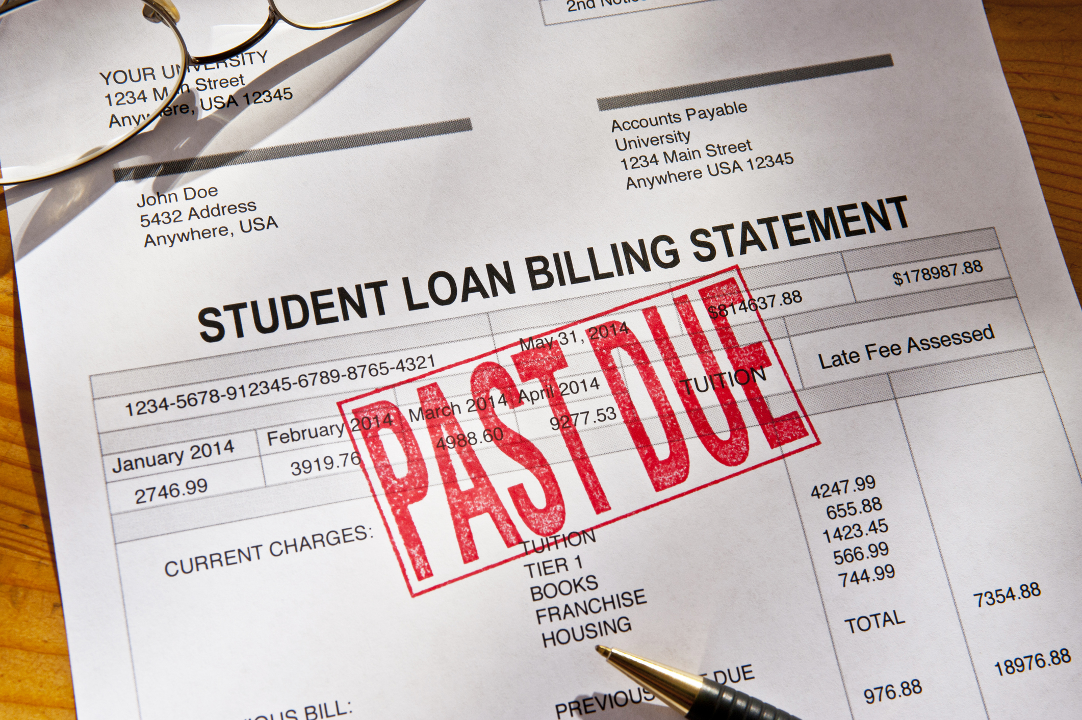 Tek advantage of this pause in student loan payments to get yourself back on track with other bills, if necessary!